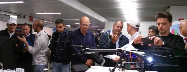 Yac Geo presentato da Airmap il nuovo Drone a Dronitaly 2014