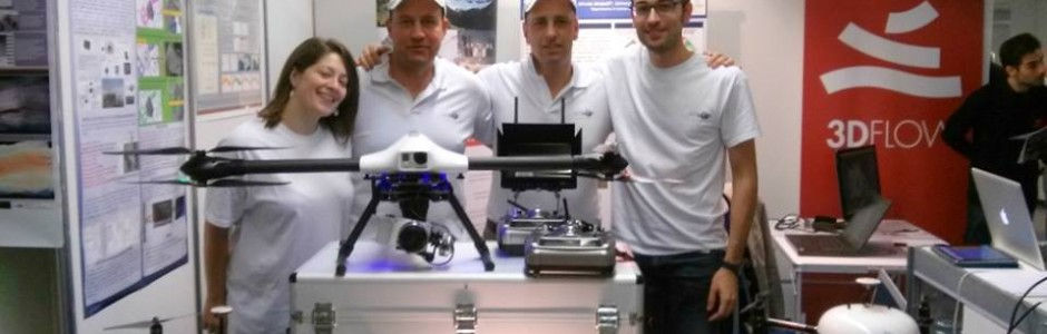 L'ingegner Zorzetto di AirMap relatore a Dronitaly 2014
