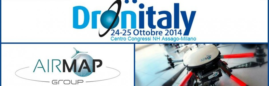 Saremo presenti a Dronitaly 2014!
