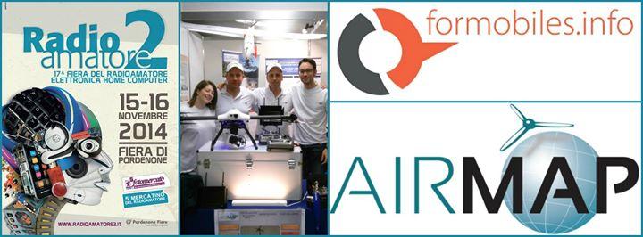 AIRMAP Flight Analysis presente alla fiera del Radioamatore a Pordenone