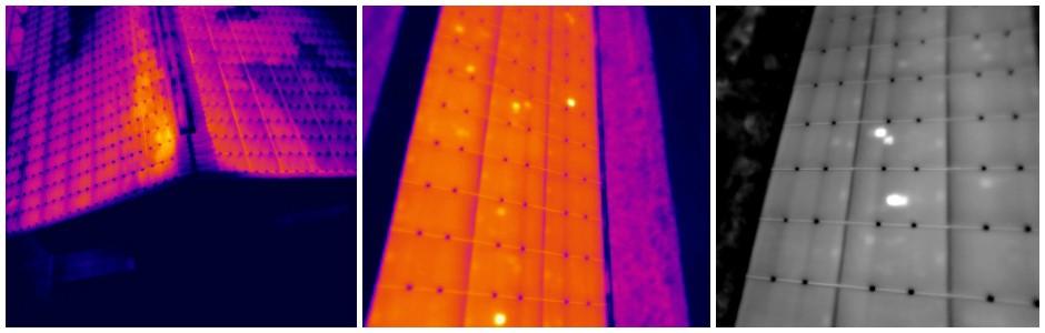 Analisi pannelli su capannoni industriali e campi  fotovoltaici