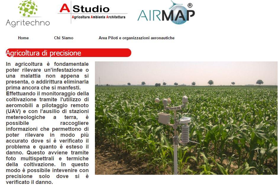 L'agricoltura di Precisione con Agritechno